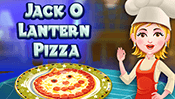 Hazel and Mom's Recipes: Jack-O'-Lantern Pizza