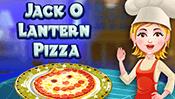 Hazel and Mom's Recipes: Jack-O'-Lantern Pizza