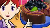 Chocolate Blackberry Cheesecake: Sara's Cooking Class