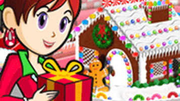 Gingerbread House: Sara's Cooking Class • Free Online Games at PrimaryGames