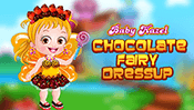 Baby Hazel Chocolate Fairy Dress Up