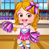 Baby Hazel Cheerleader Dress Up