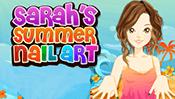 Sarah's Summer Nail Art