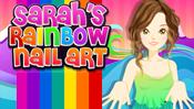 Sarah's Rainbow Nail Art