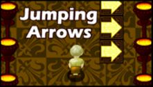 Image result for jumping arrows