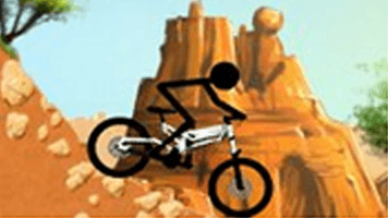 Downhill Stickman