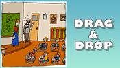 Back To School Drag & Drop Puzzle