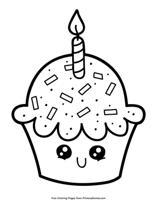 Balloons For Birthday Party Coloring Pages : Best Place to Color ... | 400x309