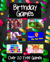 Happy Birthday Games