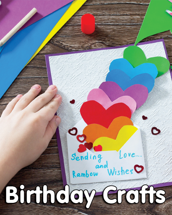 Birthday Crafts PrimaryGames