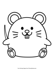 rat coloring pages   MOUSE coloring pages - Mouse to color in ...   226x175
