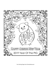 Chinese New Year Coloring Pages | Printable Coloring eBook ...