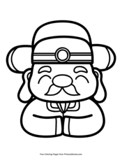 Chinese New Year Coloring Pages Free Printable Pdf From Primarygames