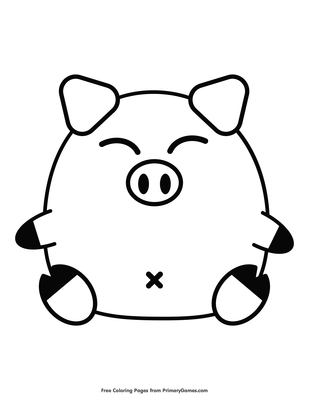 Chinese Zodiac Pig Coloring Page | Printable Chinese New ...