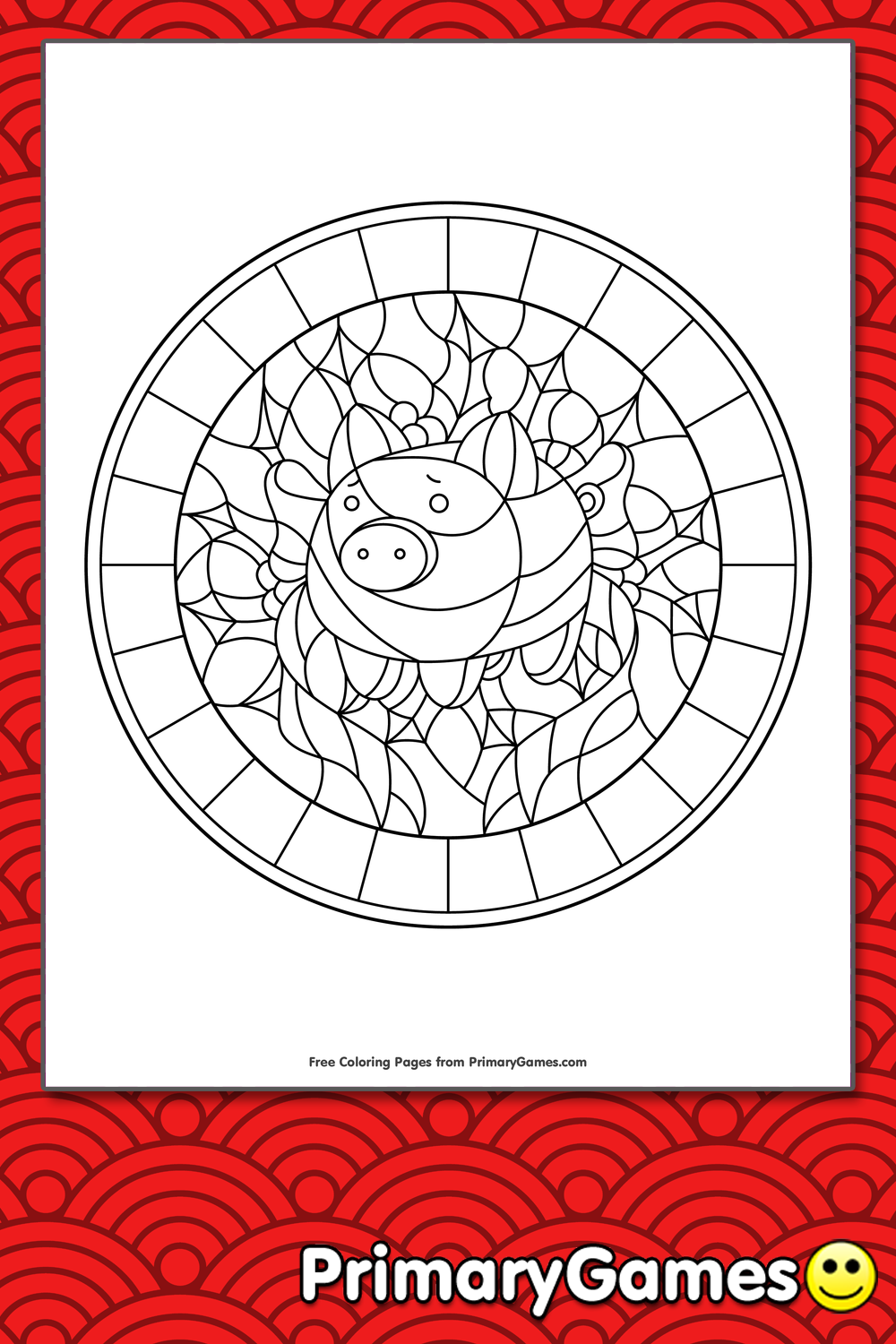 Community People Png Coloring Page - Disney Stained Glass Coloring ... | 642x496