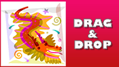 Chinese Dragon Drag & Drop Puzzle