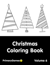 Christmas Coloring eBook: Volume 6