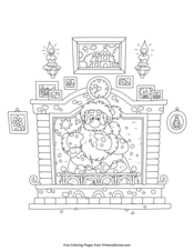 christmas coloring pages free printable pdf from primarygames christmas coloring pages free