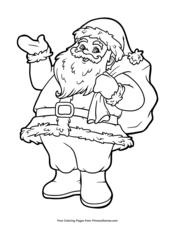 Christmas Coloring Pages Free Printable Pdf From Primarygames