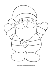 40 Printable Christmas Coloring Pages You've Never Seen Before | 226x175