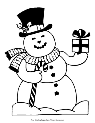 christmas coloring pages ebook snowman open pdf file snowman