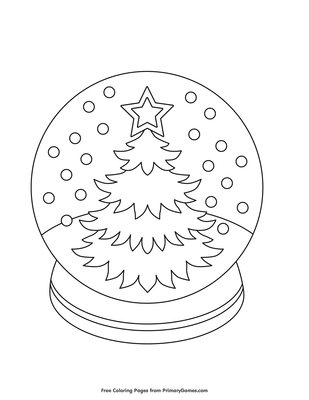 open pdf file christmas tree snow globe