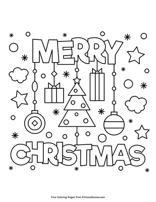 we hope you enjoy our online coloring ebooks download or print out this merry christmas coloring page to color it for free