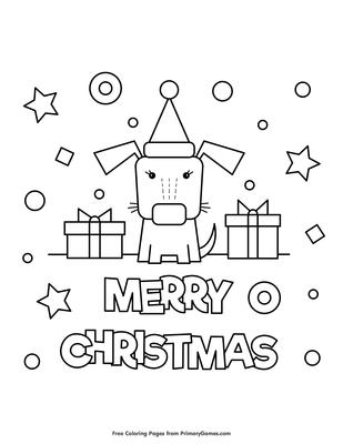 Christmas Coloring Pages Printable Santa Free | Christmas Coloring ... | 400x309