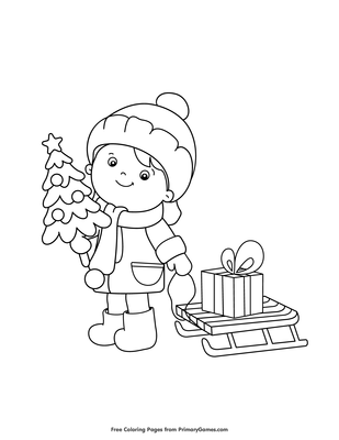Christmas tree coloring pages - coloring book - #31 Free Printable ... | 400x309
