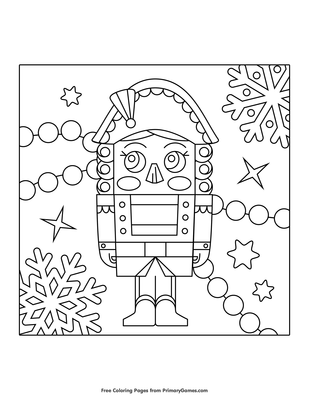 Top 20 Free Printable Nutcracker Coloring Pages Online | 400x309