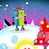 A Robot's Christmas