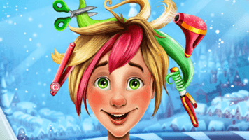Christmas Elf Real Haircuts Free Online Games At Primarygames