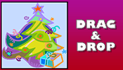 Christmas Drag & Drop Puzzle