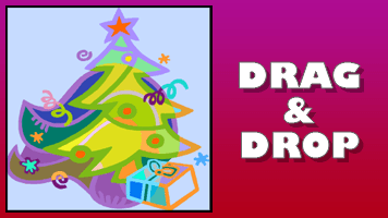 Christmas Drag amp Drop Puzzle Free Online Games at