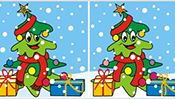 Find the Differences: Christmas Tree