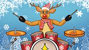 Reindeer Drummer
