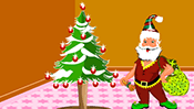 Santa Claus Room Decor