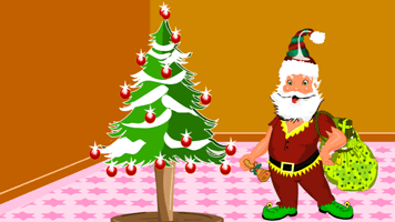 santa claus room decor primarygames play free online games - Christmas Decoration Games