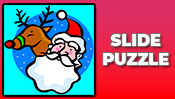 Santa and Rudolph Slide Puzzle