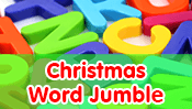 Christmas Word Jumble