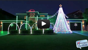 "Christmas Lights ""Gangnam Style"""