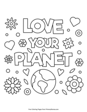 Earth Day Coloring Pages Printable Coloring eBook PrimaryGames