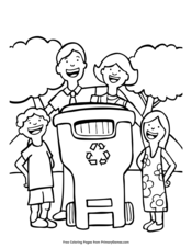 Earth Day Coloring Pages EBook Nuclear Power Plant