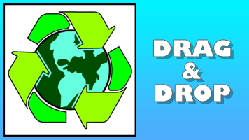 Earth Day Drag & Drop Puzzle - PrimaryGames - Play Free Online Games