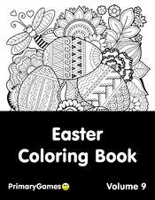 Easter Coloring Pages Printable Coloring Ebook Primarygames