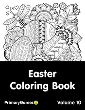 Easter coloring pages games ~ Easter Coloring Pages • FREE Printable PDF from PrimaryGames