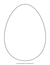 Simple Egg Outline