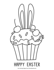 primary easter coloring pages - photo#30