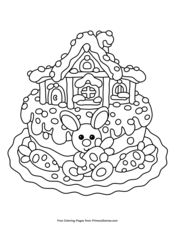 primary easter coloring pages - photo#26