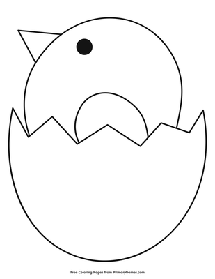 Baby Dinosaur Hatching From An Egg Dinosaur Coloring Pages ... | 400x309